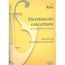 ROTA N. Divertimento concertante per contrabbasso e orchestra