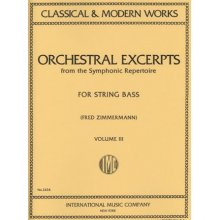 AA.VV. Orchestral excerpts from symphonic repertoire vol.3