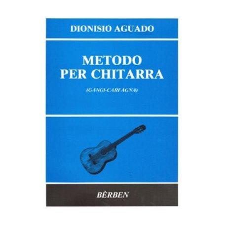 AGUADO D. Metodo per chitarra