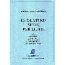 BACH J.S. Le quattro Suite per Liuto