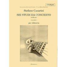 CASARINI S. Sei studi da concerto (vol.I)