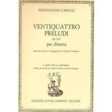 CARULLI F. 24 Preludi op.114 per chitarra