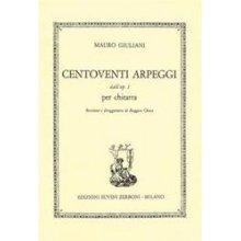 GIULIANI M. Centoventi Arpeggi dall'op.1 per chitarra