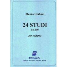 GIULIANI M. 24 Studi op.100 per chitarra