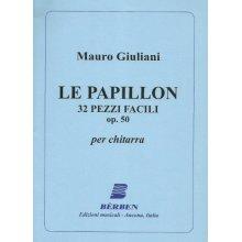 GIULIANI M. Le Papillon 32 pezzi facili op.50