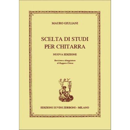 GIULIANI M. Scelta di Studi per Chitarra (Chiesa)