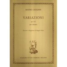 GIULIANI M. Variazioni op.112 per chitarra