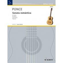 PONCE M. Sonata romantica per chitarra