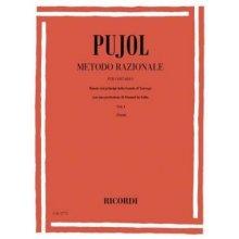 PUJOL E. Metodo razionale per chitarra vol.I (Terzi)