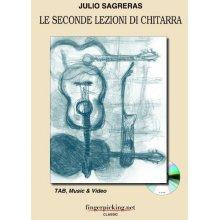 SAGRERAS J. Le seconde lezioni di chitarra (+CD)