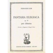 SOR F. Fantasia Elegiaca op.59 per chitarra