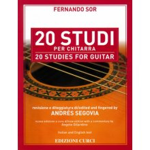 SOR F. 20 Studi per chitarra (Segovia)