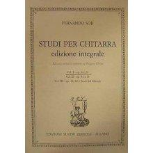SOR F. Studi per chitarra edizione integrale (vol.I)
