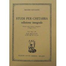 SOR F. Studi per chitarra edizione integrale (vol.II)