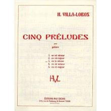 VILLA-LOBOS H. Prélude n.3 en la mineur