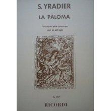 YRADIER S. La Paloma