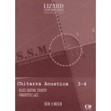 LIZARD-UNTERBERGER Scuola Superiore di Musica - Chitarra Acustica (vol.3-4)