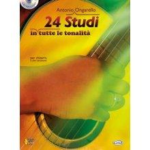 ONGARELLO A. 24 Studi in tutte le tonalità