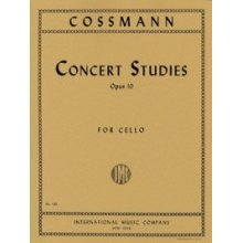 COSSMANN B. Concert Studies Op.10 for Cello