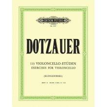 DOTZAUER 113 Violoncello Etuden Band II (35-62)