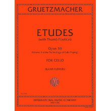 GRUETZMACHER F. Etudes Opus 38 for Cello