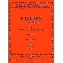 GRUETZMACHER F. Etudes Opus 38 for Cello