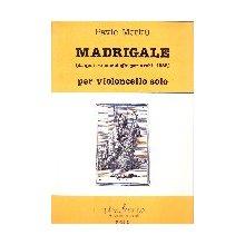 MERKU' P. Madrigale per violoncello solo
