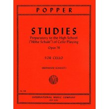 POPPER D. Studies Preparatory to the High School Op.76