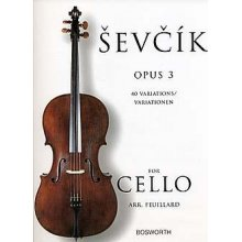 SEVCIK O. 40 Variationen Opus 3 for Cello