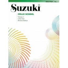 SUZUKI Cello School Vol.3