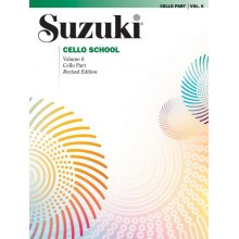 SUZUKI Cello School Vol.6