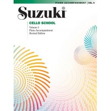 SUZUKI Cello School Vol.5 Piano Accompaniment