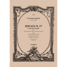BOCCHERINI L. Sonata N.17 in Do maggiore G17 per Violoncello e Basso