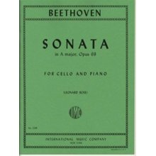 BEETHOVEN L.van Sonata in A major Op.69 for Cello and Piano