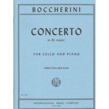 BOCCHERINI L. Concerto in Bb major for Cello and Piano