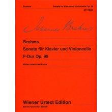 BRAHMS J. Sonate F-Dur op.99 Violoncello und Klavier