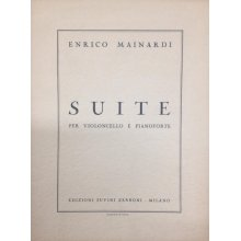 MAINARDI E. Suite per Violoncello e Pianoforte