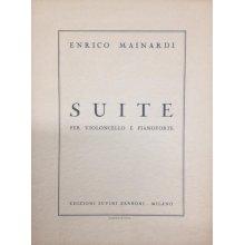 MAINARDI E. Suite per Violoncello e Pianoforte