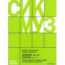 PROKOFIEV S. Sonata Op.119 per Violoncello e Piano