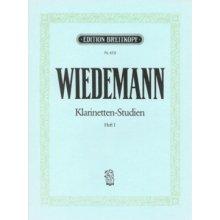 WIEDEMANN Klarinetten-Studien (Heft I)