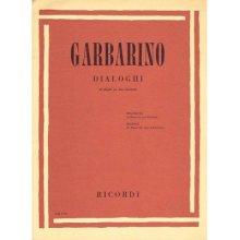GARBARINO Dialoghi (20 Duetti per due Clarinetti)