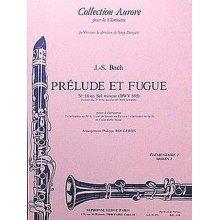 BACH J.S. Prélude et Fugue pour 4 clarinettes (arr. Rougeron)
