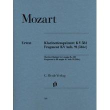 MOZART W.A. Klarinettenquintett KV581 - Fragment KV Anh.91