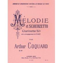 COQUARD A. Mélodie et Scherzetto