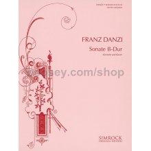 DANZI F. Sonate B-Dur (Klarinette und Klavier)