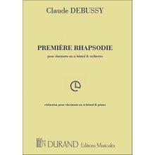DEBUSSY Première Rhapsodie (réduction pour clarinette & piano)