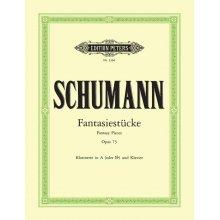 SCHUMANN Fantasiestucke Op.73 (Klarinette in A oder B und Piano)