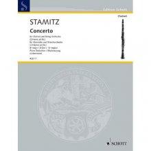 STAMITZ J. Konzert fur Klarinette und Streichorchester
