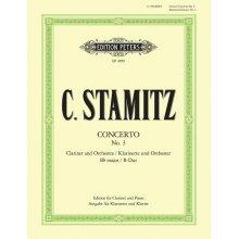STAMITZ J. Konzert no.3 B-Dur fur Clarinet und Orchester