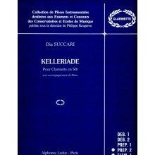 SUCCARI D. Kelleriade pour Clarinette en Sib